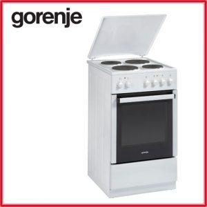 GORENJE E 55106 AW 300x300 - Електрическа Готварска печка Gorenje E55106AW