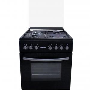 Печка Gamalux I 6012 2 газ + 2 ток черна